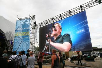 LED Screen Exterior Outdoor 400x250